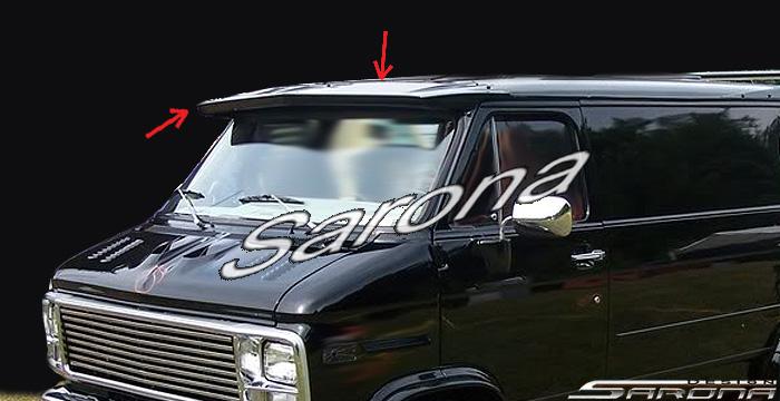 Custom GMC Van All Styles Sun Visor (1971 - 1995) - $390 ...