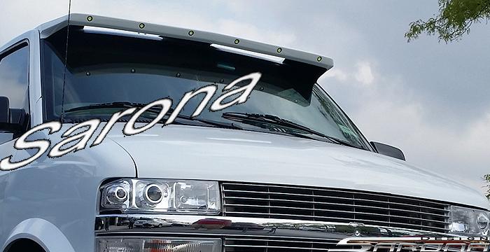 Custom Chevy Astro Mini Van Sun Visor (1995 - 2005) - $399.00 (Part #CH-015-SV)