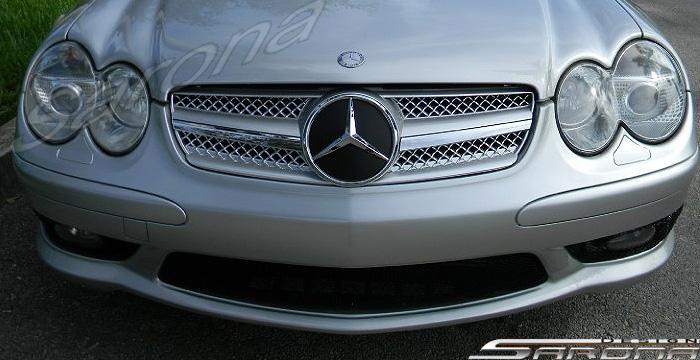Custom Mercedes SL Convertible Grill (2003 - 2008) - $249.00 (Part #MB-039-GR)