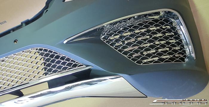 Custom Mercedes S Class All Styles Front Bumper (2014 - 2019) - $1290.00 (Part #MB-154-FB)