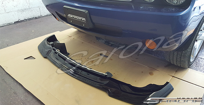 Custom Dodge Challenger Coupe Front Add-on Lip (2011 ...