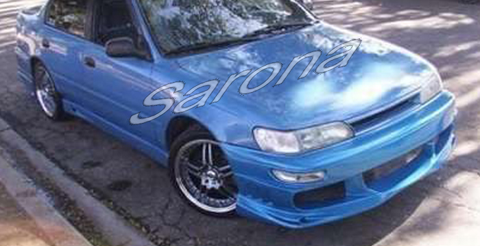 custom toyota corolla sedan body kit 1993 1997 call for price part ty 050 kt custom toyota corolla sedan body kit
