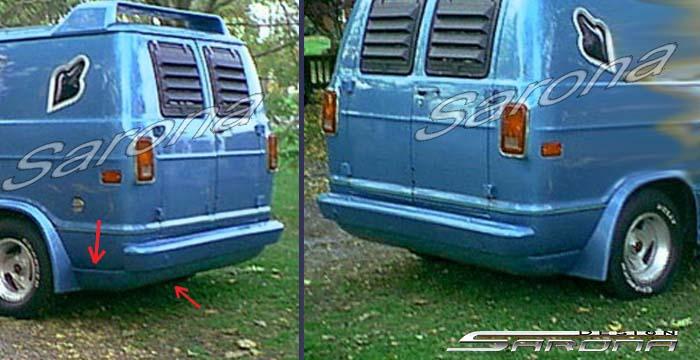 Custom Dodge Van 1991 Roll Pan - Sarona