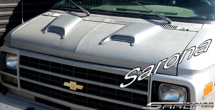 Custom GMC Van All Styles Hood Scoop (1970 - 1995) - $175 ...