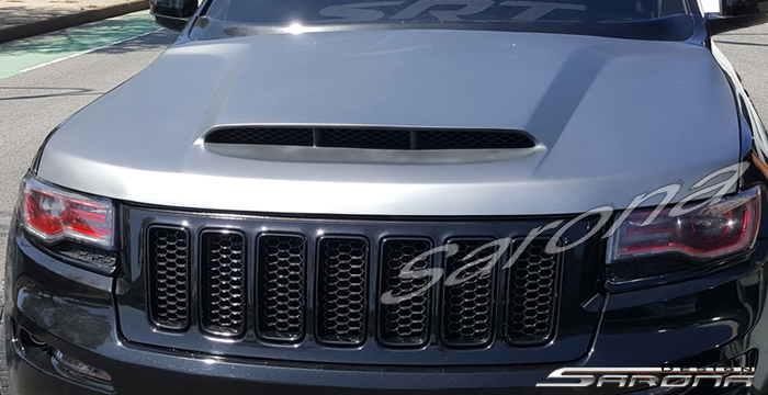 Custom Jeep Grand Cherokee SUV/SAV/Crossover Hood (2011 ...