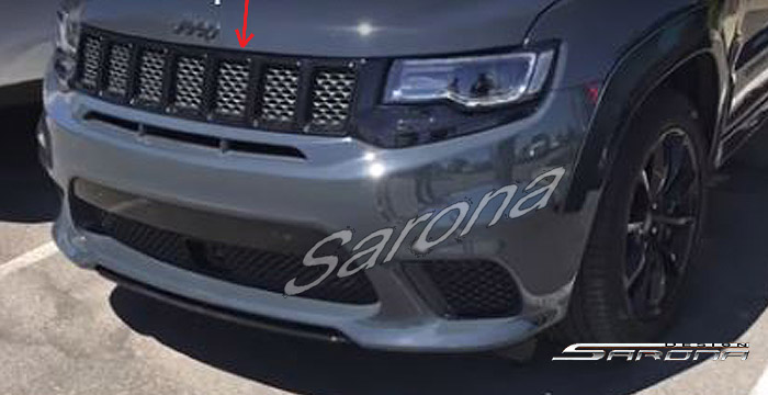Custom Jeep Grand Cherokee Suv Sav Crossover Grill 2017 2018