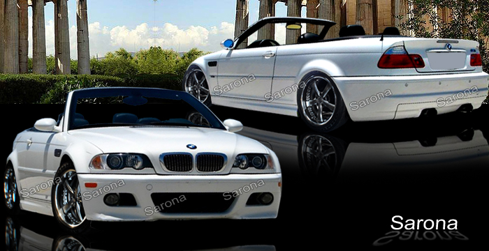 Custom BMW 3 Series Body Kit Coupe (1999 - 2006) - $1490 ...