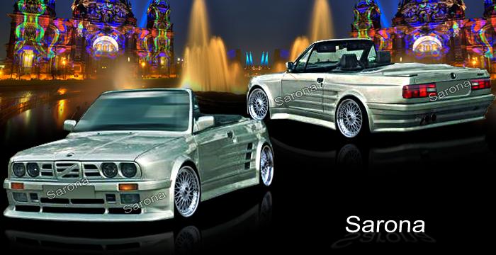 Custom Bmw 3 Series Body Kit Coupe Amp Sedan 1984 1991
