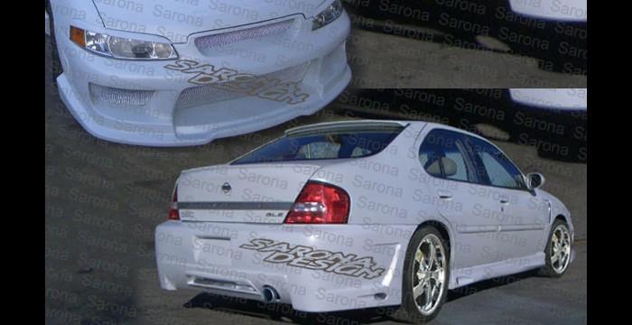 Custom Nissan Altima Sedan Body Kit 1998 2001 1290 00 Manufacturer Sarona Part Ns 026 Kt