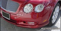 Custom Bentley GT Front Bumper Add-on  Coupe Front Add-on Lip (2003 - 2010) - $890.00 (Part #BT-001-FA)