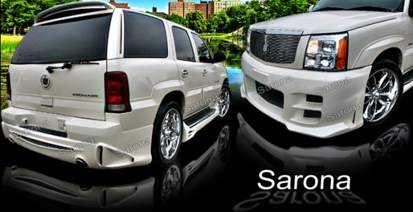 Custom 02-03 Escalade Kit # 36-42  SUV/SAV/Crossover Body Kit (2002 - 2006) - $1150.00 (Manufacturer Sarona, Part #CD-004-KT)