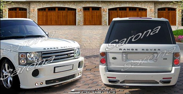 Custom Range Rover HSE  SUV/SAV/Crossover Body Kit (2003 - 2005) - $2450.00 (Manufacturer Sarona, Part #RR-002-KT)