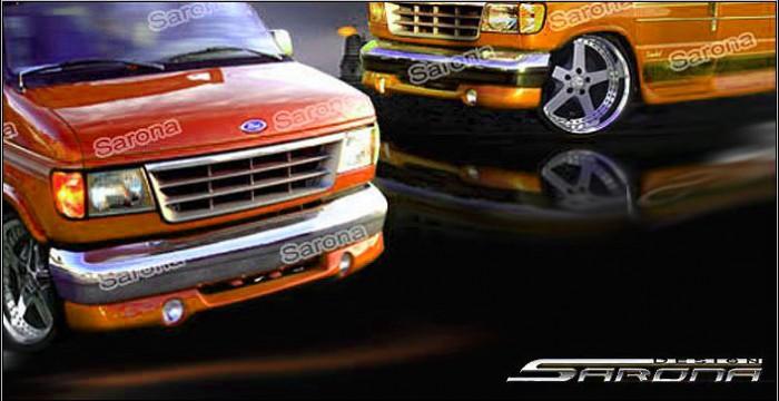 Custom Ford Econoline Van Front Add-on Lip (1992 - 1996 ...