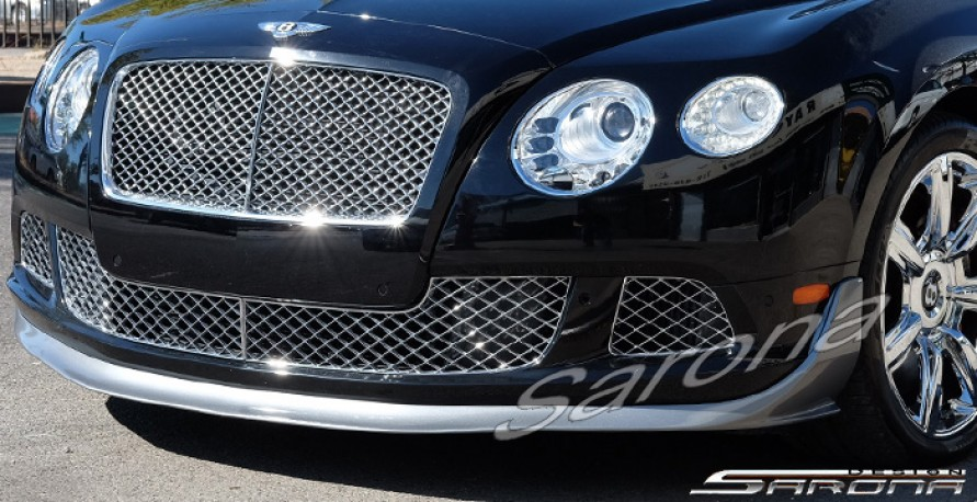 Custom Bentley GT  Coupe Front Add-on Lip (2011 - 2017) - $980.00 (Part #BT-017-FA)